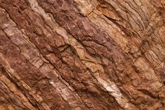 Kamienna tekstura czerwieni i brązu kolory obrazy stock