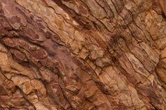 Kamienna tekstura czerwieni i brązu kolory fotografia stock