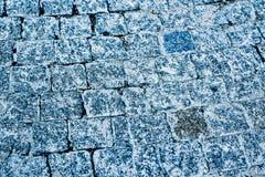 kamienna tekstura, pokrywa na miasto ulicie Obrazy Royalty Free