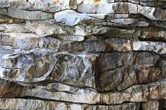 Kamienna tekstury skała Zdjęcie Royalty Free