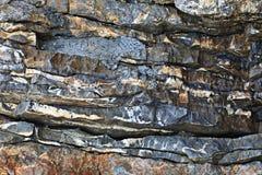 Kamienna tekstury skała Zdjęcie Stock