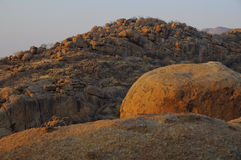 Kamienne góry Zdjęcie Stock