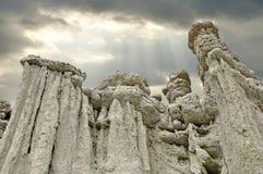 Kamienne lale przy wioską Kuklica Fotografia Stock