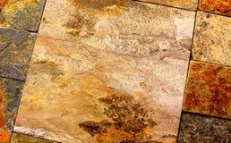 kamienne płytki obraz stock