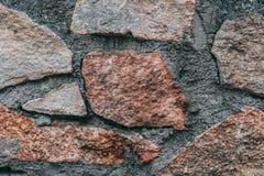 Kamienne tekstury nieregularne fotografia royalty free