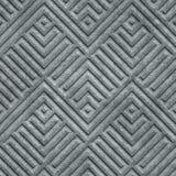 Kamiennego cyzelowania bezszwowa tekstura z geometrycznym wzorem royalty ilustracja