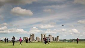 Kamiennego henge monolitowi kamienie England zdjęcie wideo