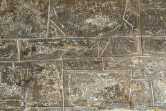 Kamiennego kamieniarstwa ściana Fotografia Stock