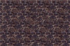 Kamiennego kamieniarstwa ciemnego nierównego kamiennego bruku tekstury naturalna baza obraz stock