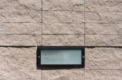 Kamiennej ściany światło i tło Zdjęcia Royalty Free