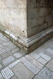 Kamiennej ściany kąt Obraz Royalty Free