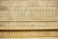Kamiennej ściany ornament Zdjęcia Royalty Free