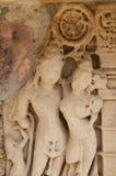 Kamiennej ściany rzeźb szczegóły gfw w Zdjęcie Stock