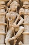 Kamiennej ściany rzeźb szczegóły gfw w Obraz Stock