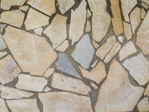 Kamiennej ściany tła podłogowa tekstura obraz royalty free