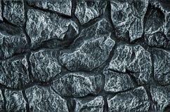 Kamiennej ściany tło - budynek cecha Tekstura gęsta, silna ściana szorstcy kamienie i obrazy stock