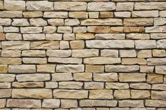 Kamiennej ściany tekstura Obrazy Stock