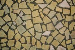 Kamiennej ściany tekstura na ulicznej ścianie obraz royalty free