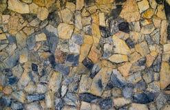 Kamiennej ściany tekstury tło Obraz Stock