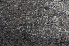 Kamiennej ściany tekstury un zmrok - szarość Obraz Royalty Free
