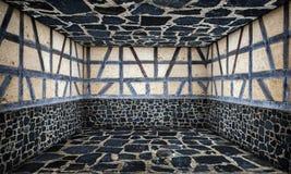 Kamiennej ściany Wewnętrzna scena Zdjęcia Royalty Free