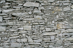 kamiennej ściany biel Fotografia Royalty Free