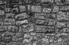 Kamiennej ściany wzór Zdjęcie Royalty Free