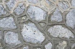 Kamiennej ściany wzory obraz royalty free