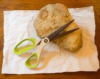 Kamienni papierowi nożyce Zdjęcie Stock