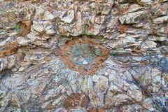Kamienni słońca - unikalna geological formacja obraz royalty free
