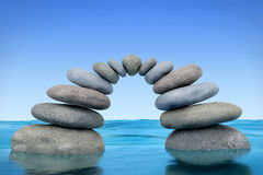 Kamienny łuk Zdjęcie Royalty Free