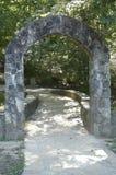 Kamienny łuk Kojarzący z Appalachian śladem Obrazy Royalty Free