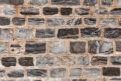 Kamienny ściana z cegieł Fotografia Stock