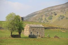 Kamienny Barnes Muker i Thwaite Zdjęcie Royalty Free