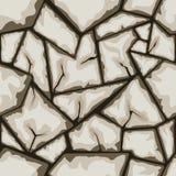 Kamienny bezszwowy wzór Fotografia Royalty Free