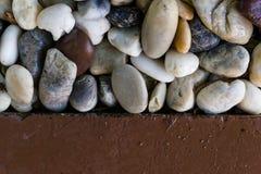 Kamienny biały brzmienia tło Zdjęcia Stock