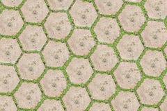 Kamienny blok z trawą. obrazy stock