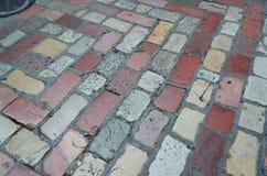 Kamienny blokowy brukowanie Zdjęcie Royalty Free