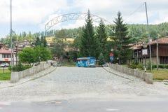Kamienny bridżowy turysta w Koprivshtitsa, Bułgaria Zdjęcia Stock
