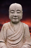 Kamienny Buddha Obraz Royalty Free
