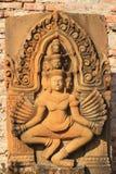 Kamienny cyzelowanie dla Narayana Fotografia Royalty Free