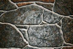 Kamienny dekoracyjny talerz dla podłoga szarość z białymi pęknięciami Obraz Stock