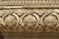Kamienny deseniowy ornament Fotografia Royalty Free