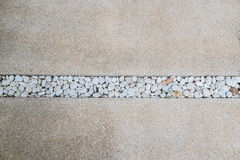 Kamienny deseniowy spaceru sposób zdjęcia royalty free