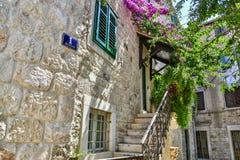 Kamienny dom Crotian architektura Obraz Royalty Free