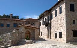 Kamienny dom przy Grecja Zdjęcia Stock