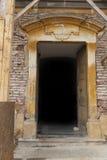 Kamienny drzwi Zdjęcia Royalty Free