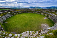 Kamienny fort Grianà ¡ n Aileach obrazy stock