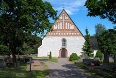 Kamienny kościół. Zdjęcia Royalty Free