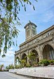 Kamienny kościół, antyczna katedra, nha trang, Vietnam fotografia royalty free